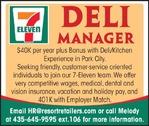Deli Manager 7 Eleven