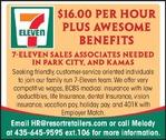 Sales Associate 7-Eleven