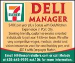 Deli Manager - 7 Eleven